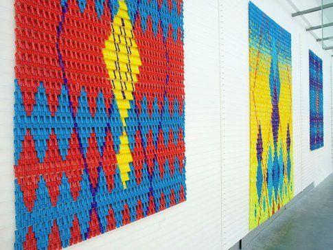 Clothespin work - We Make Carpets