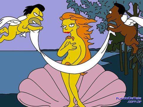 L'arte nei Simpson