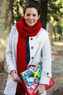 Una sciarpa rossa mette sempre il buonumore