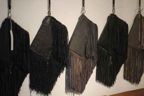 Le borse con le frange di Barbara Boner