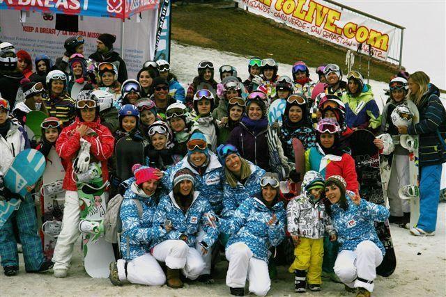 Monte Bondone invaso da oltre 100 snowboarder