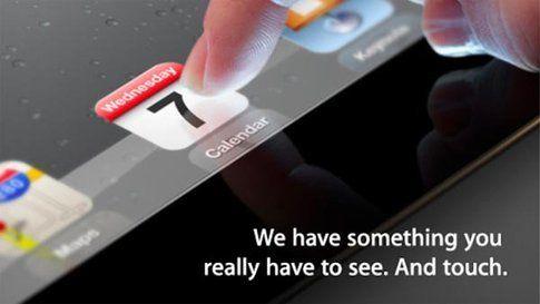 Apple lancia il nuovo Ipad