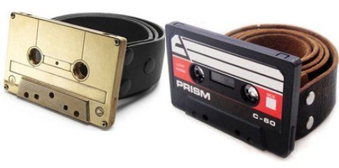 Chandra Sweet, cassette tape belt buckle
