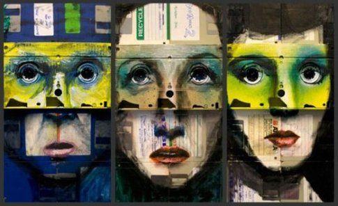 Nick Gentry, pittura
