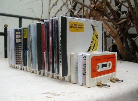 Portacd con cassette
