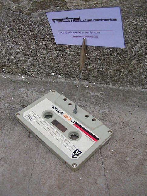 Portabiglietti da visita con cassette