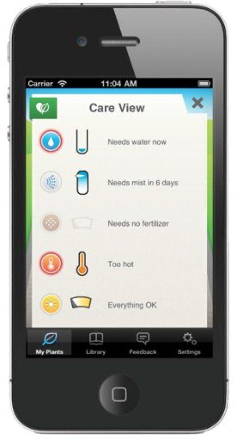 La App per iOS