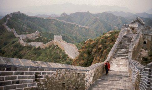 """""""Great Wall of China"""", Marina Abramović e Ulay (1988)"""
