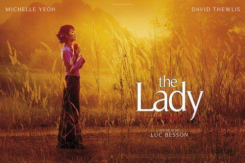 Una delle locandine di The Lady