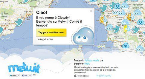 Metwit Il Meteo Social