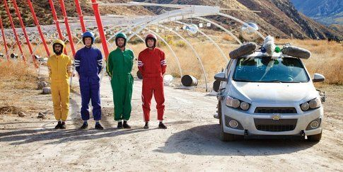 Ok Go - Needing/Getting video
