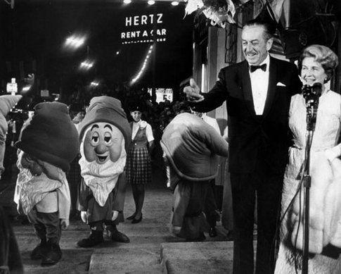 Walt Disney e Pamela Trevers