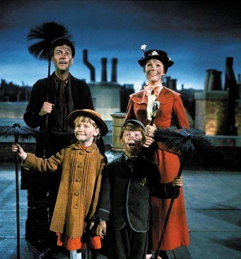 Una scena di Mary Poppins