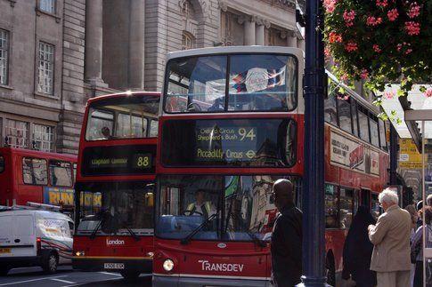 Autobus londinesi - Foto di Simona Forti