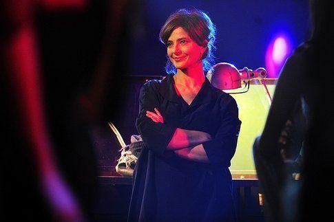 Laura Morante alla premiere di Ciliegine