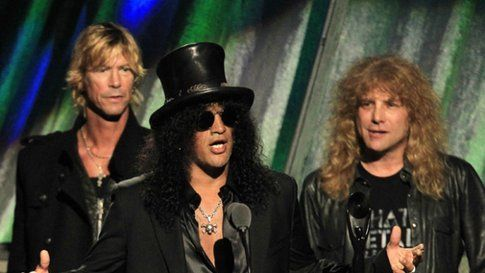 Slash parla alla Rock and Roll Hall of Fame 2012