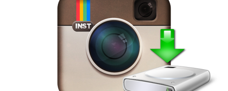 Instagram Scarica le tue foto