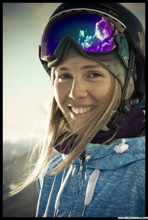 Silvia Bertagna, una delle freeskier che potrai incontrare al Sista Session Freestyle Camp