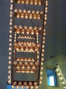 Uno dei lampadari del Ventura Bar