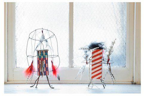 Le bambole di riciclo di Brad Kahlhamer