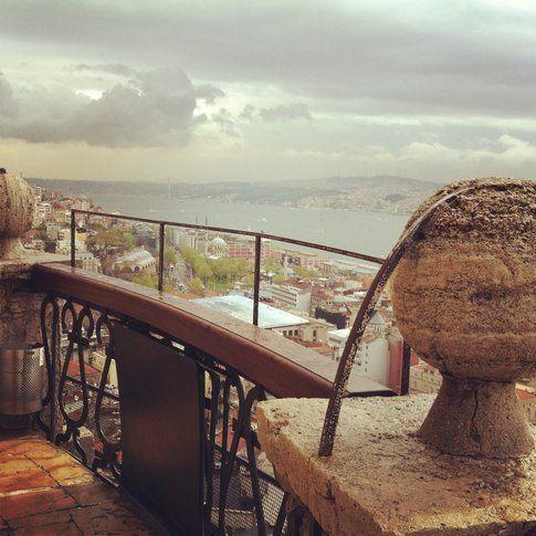Panorama dalla Torre di Galata