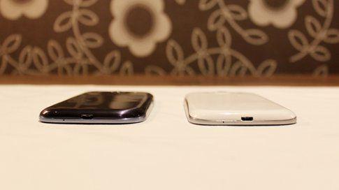 Le due versioni del nuovo Samsung Galaxy S III: Marble White e Pebble Blue