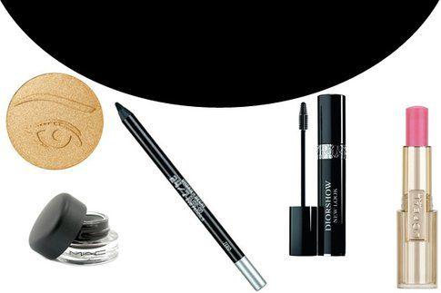 I prodotti utilizzati per questo make up.