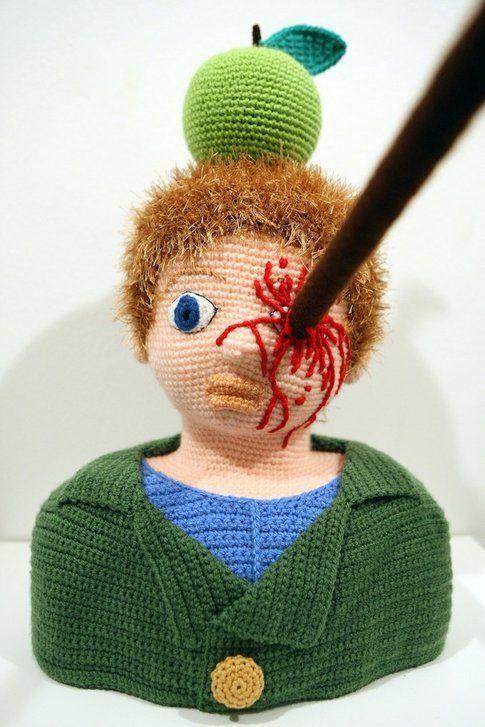 Guglielmo Tell: la freccia non ha colpito la mela ma gli ha infilzato l'occhio