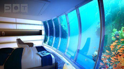 Dormire in fondo al mare