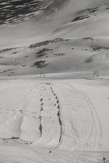 La seconda area jibbing delo snowpark