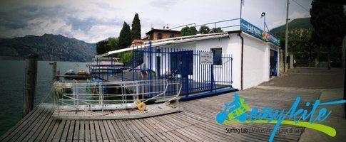 La nuova sede dell'Easykite Kite School