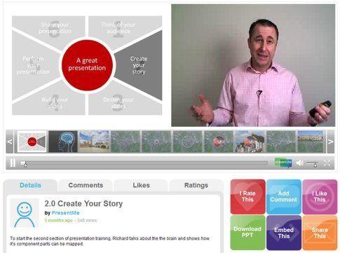 Present.me - potrai condividere i tuoi contenuti testuali e video assieme