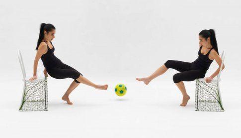 Lazy Football di Emanuele Magini per Campeggi