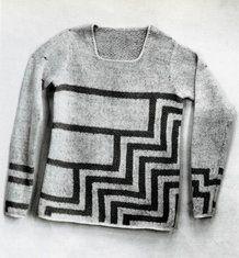 maglione decorato