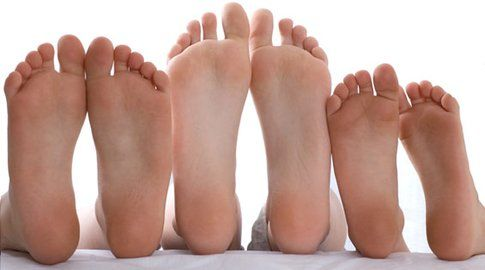 Odore di sudore ai piedi