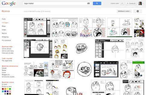 Rage Maker - Alcune vignette su Google