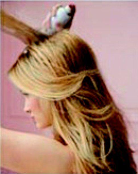 Secondo step: cotona i capelli