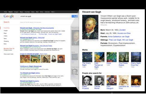 Google Knowledge Graph: ecco come si presenterà