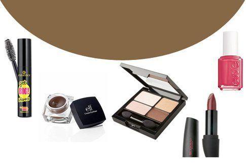 Make up in cinque mosse: sfumature marroni