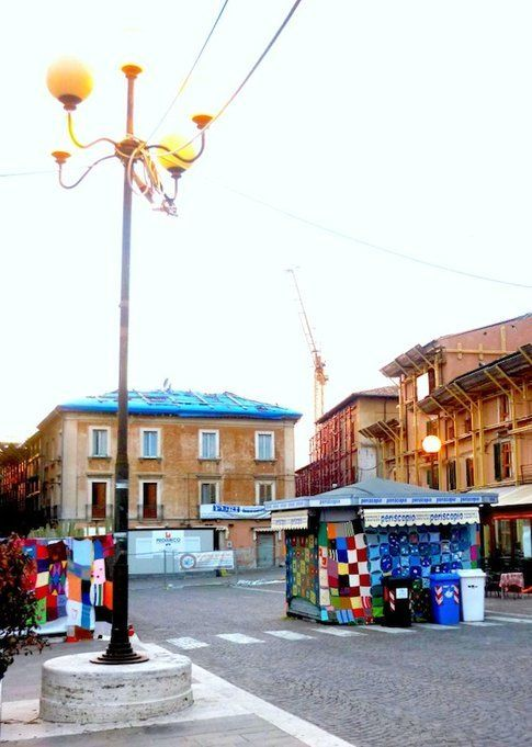 Piazza Duomo, L'Aquila, aprile 2012