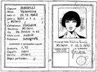 La carta d'identità di Valentina Rosselli
