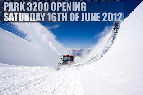 Il 16 giugno aprirà lo snowpark di Le 2 Alpes