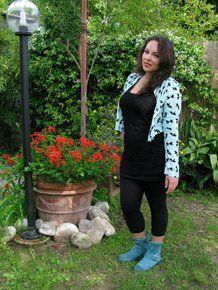 L'outfit di Iris Tinunin