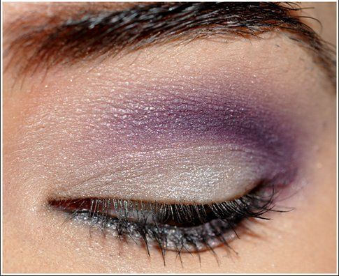 Make up in cinque mosse: violet touch