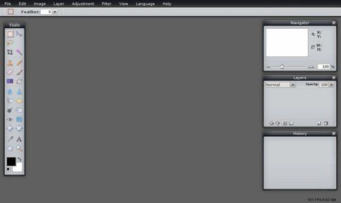 Pixlr da browser