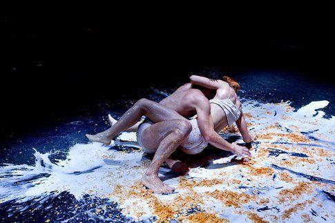 Una scena di Woyzeck-ricavato dal vuoto