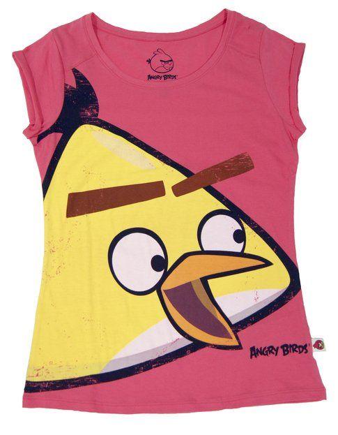 Angry Birds e Bershka: tee da donna