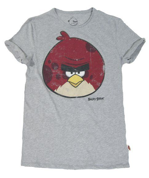 Angry Birds e Bershka: tee da uomo