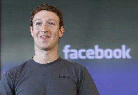 Mark Zuckerberg, il fondatore di Facebook