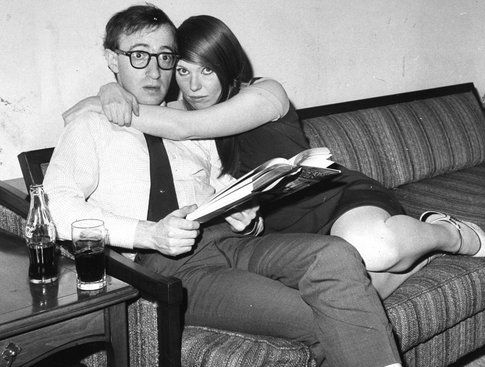 Una scena del documentario dedicato a Woody Allen